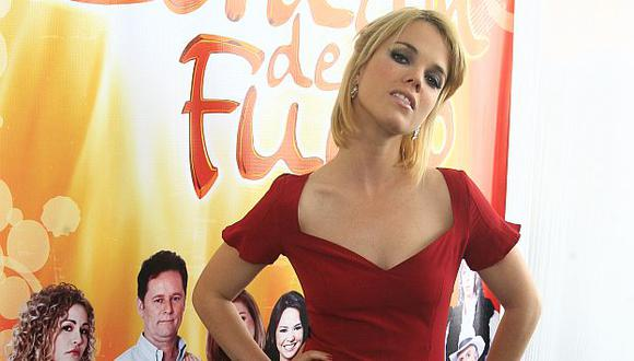 Alessandra Denegri esta abocada a su papel en 'Al fondo hay sitio'. (USI)