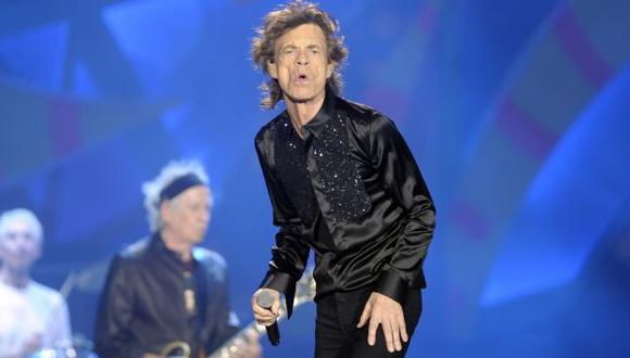 Mick Jagger se convertirá en padre por octava vez a los 72 años. (EFE)