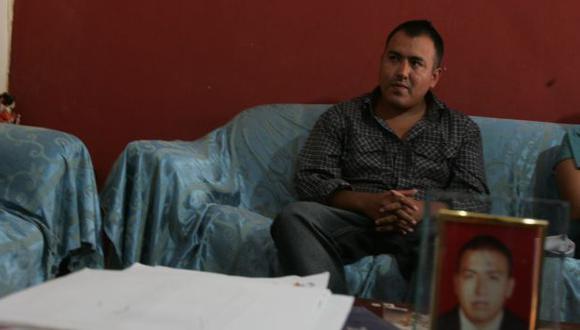 David Feliciano está indignado; perdió gran parte de su juventud tras las rejas por un delito que no cometió. (Martín Pauca)