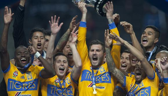 Tigres campeón del apertura 2017. (AFP)