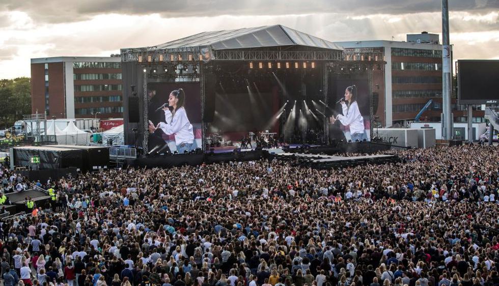 Manchester One Love: Así se vivió el emotivo concierto que homenajeó a víctimas del atentado. (Reuters)