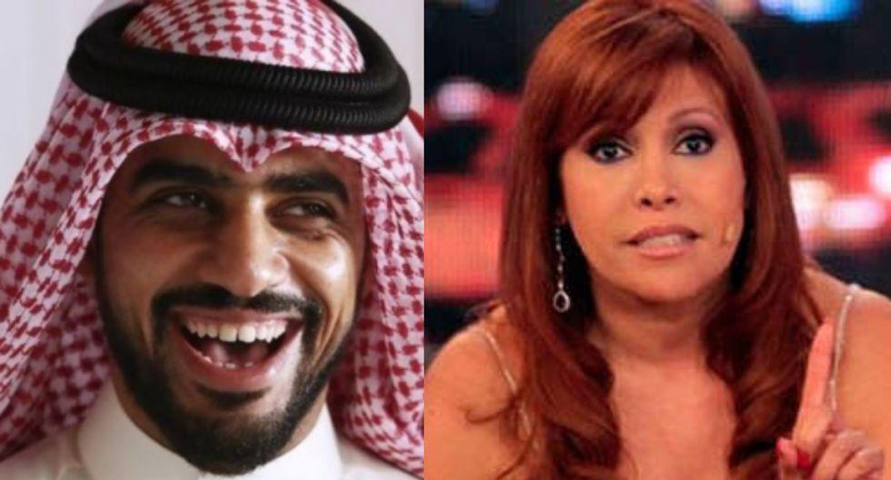 Yaqoob Mubarak aprueba ataques contra Magaly tras decir que engaña a las personas