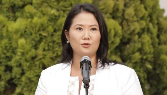Keiko Fujimori envió saludos a los peruanos por Navidad. (Piko Tamashiro)