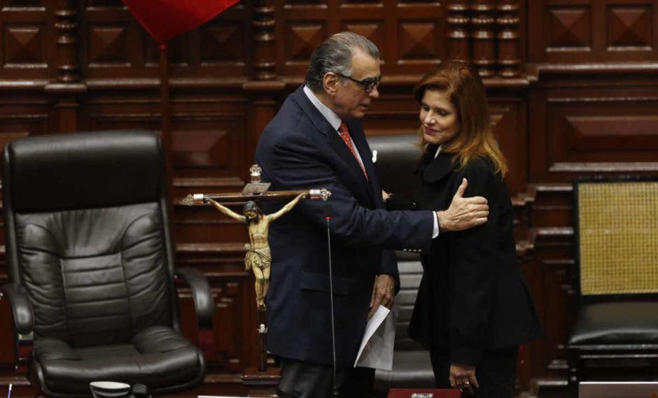 """Mercedes Araoz asume la presidencia: """"Martín Vizcarra ha fallado"""". (Foto: Hugo Pérez/GEC)"""