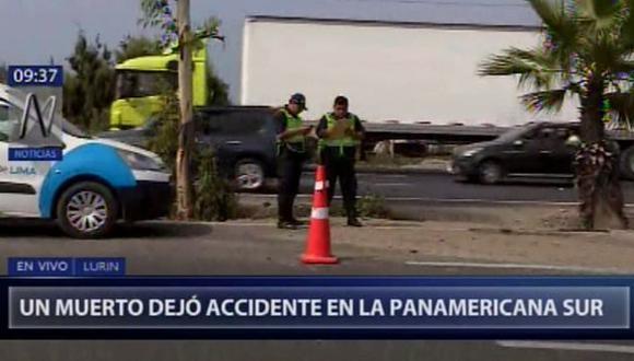 La víctima mortal fue identificada como Brayan Torres Jurado de 26 años. (Video: Canal N)