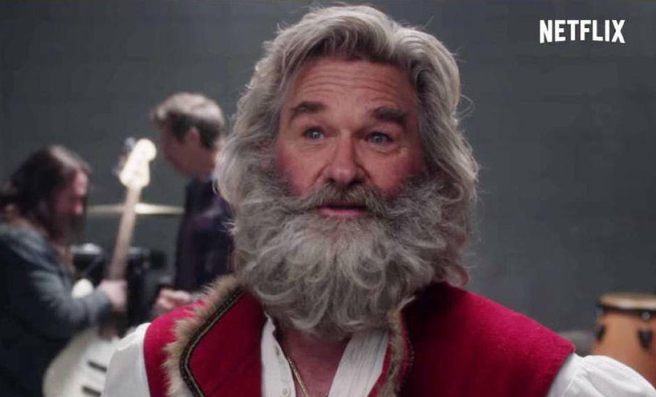 """""""Crónica de Navidad"""" tiene a Kurt Russell como su protagonista. (Foto: Netflix)"""