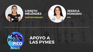 Jessica Honorio del PPC VS Lisseth Meléndez del Partido Morado