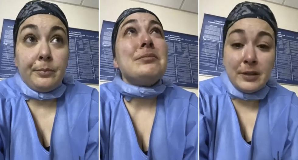 """""""Están asesinando a los pacientes de coronavirus"""", la fuerte denuncia de una enfermera en Nueva York."""