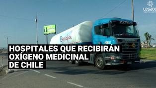 Conoce los hospitales que recibirán oxígeno medicinal de Chile
