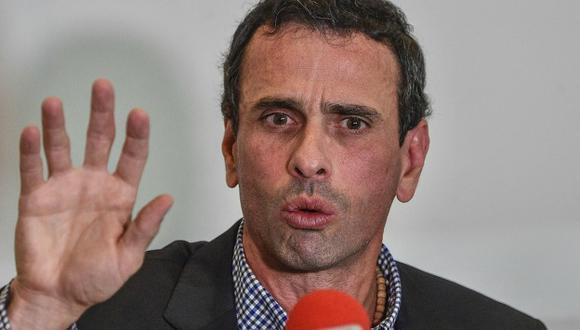 Capriles informó que cifra de muertos por protestas aún está en investigación. (Foto: AFP)