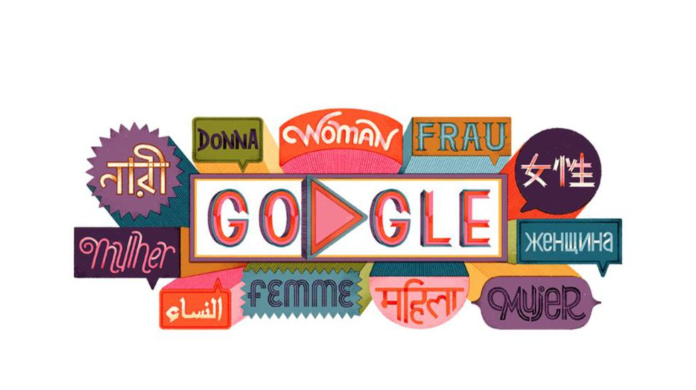 Las mujeres que aparecen en el doodle de hoy provienen de todo el mundo y son conocidas por su trabajo en diversos campos. (Foto: Google)