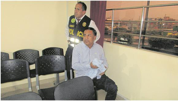A Willy Serrato, ex alcalde de Olmos, en Lambayeque, se le dictó 24 meses de prisión en noviembre pasado. (Foto: GEC)
