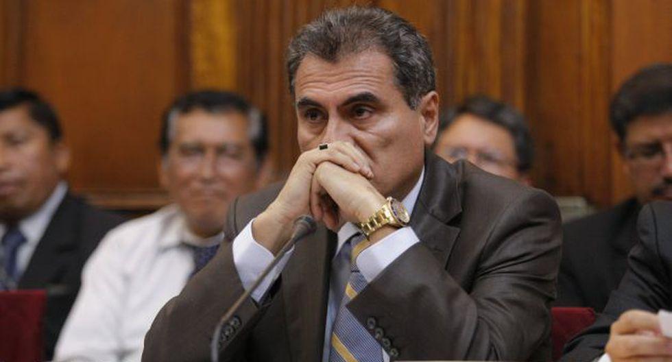 Julio Gagó dijo que quieren silenciarlo. (Luis Gonzales)