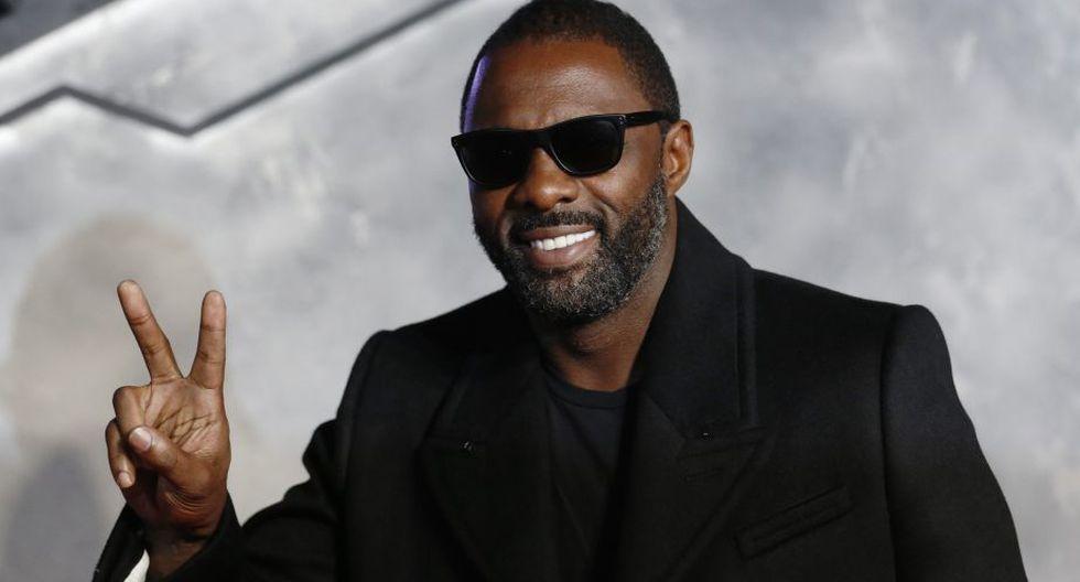 Idris Elba en el puesto 8. (Reuters)