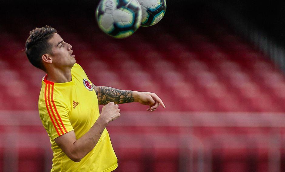 James Rodríguez se encuentra jugando la Copa América Brasil 2019. (Foto: AFP)
