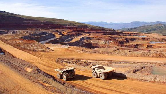 EXPECTATIVA. Minería sigue siendo un sector clave para la economía a pesar de su lento avance. (Difusión)