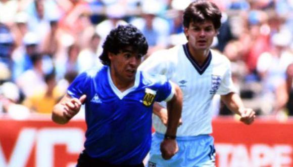 Maradona falleció este miércoles a los 60 años de edad. (Foto: Twitter: England)