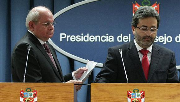 Cateriano y Jiménez enfrentarán sendas acusaciones. (USI)