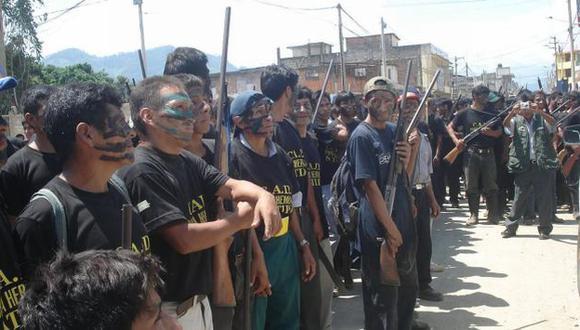 Crecen críticas contra ronderos que participan en actos violentistas antimineros. (USI)