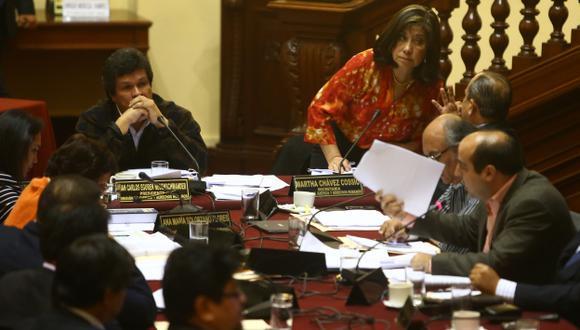 LA DISOLVIERON. Chávez acusó al Gobierno de estar atrapado por algunas ONG. (Rafael Cornejo)