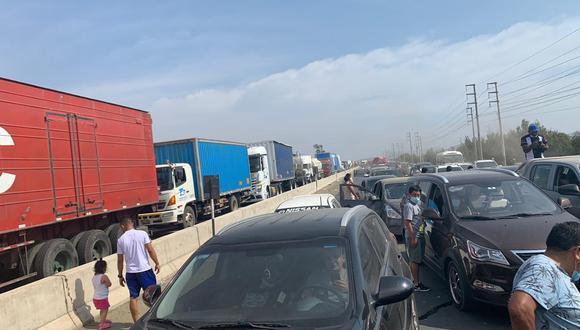 Tacna: bloqueo de carreteras impide ingreso que camiones con oxígeno provenientes de Chile (Foto referencial: GEC)