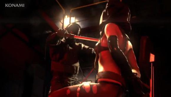 Las imágenes muestran a la sniper Quiet recibiendo descargas eléctricas. (Youtube)