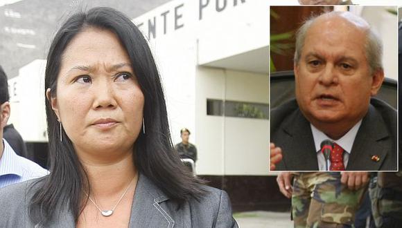 Keiko Fujimori se reunirá esta tarde con el premier Pedro Cateriano. (USI)