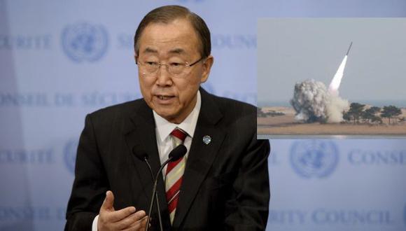 Secretario de la ONU se quejó de las acciones intimidatorias de Corea del Norte. (EFE/Reuters).