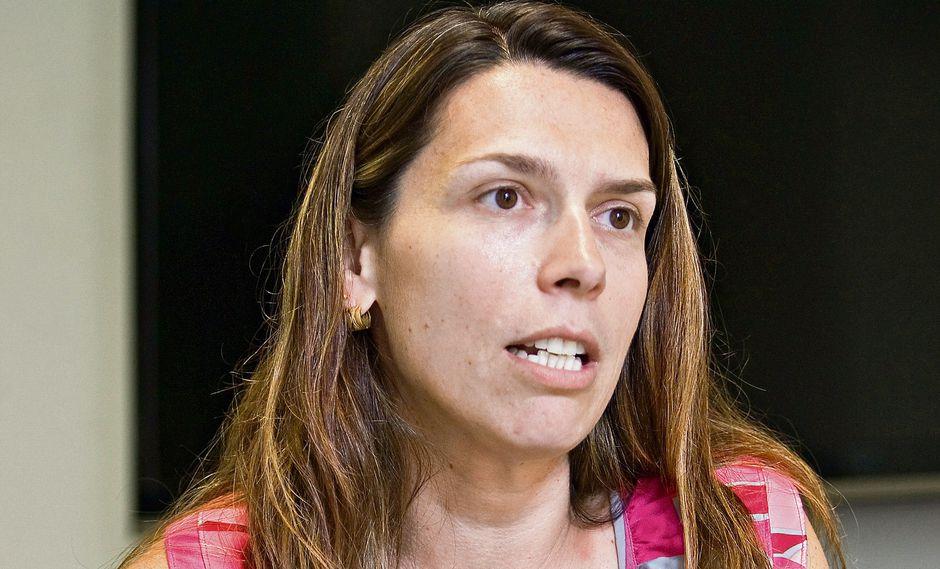 "Urpi Torrado: ""Creen que Keiko pierde poder"". (USI)"