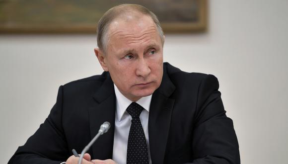 Vladimir Putin (AP)
