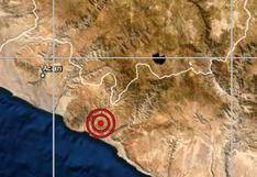 Arequipa: sismo de magnitud 4 se reportó en Chala esta mañana