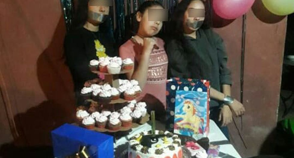Menor celebra su cumpleaños con temática de sicariato. (Foto: Twitter Ya Párate)
