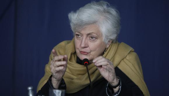 Carmen Masías hace llamado a agrupaciones políticas. (Mario Zapata)