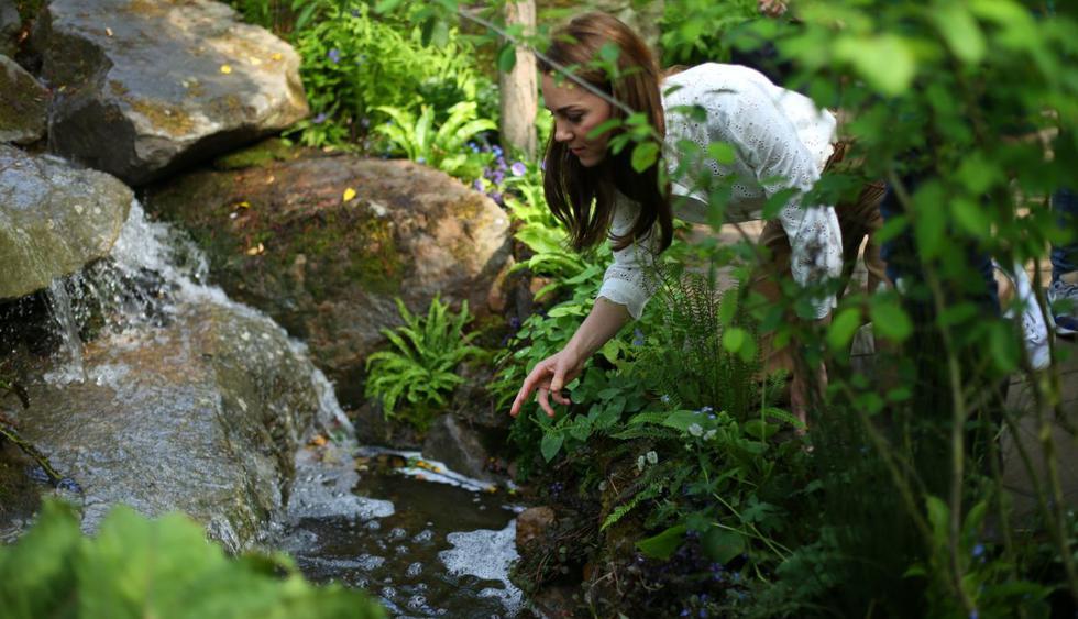 La duquesa de Cambridge diseña un frondoso jardín para divertirse y soñar. (Foto: AFP)