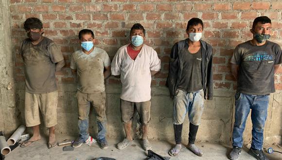'Los Mañaneros del Cono Norte' se dedicaban a desmantelar camionetas robadas (GEC)