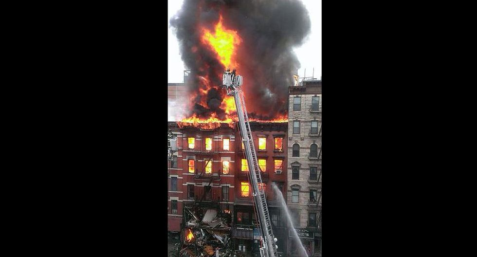 Explosión en Manhattan habría dejado más de 30 heridos. (Twitter/@mesh_mellow)