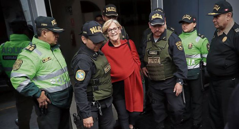 Susana Villarán cumple 18 meses de prisión preventiva. (GEC)