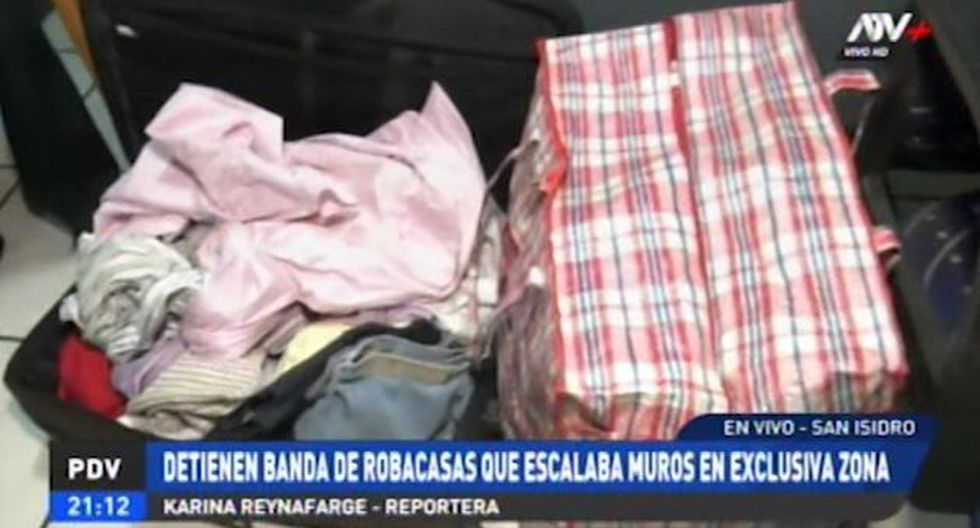 "Estos sujetos que robaban bajo la modalidad de ""escalamiento"" en zonas exclusivas del distrito de San Isidro. (Video: ATV+)"