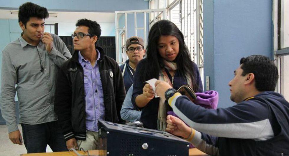 San Marcos: Comunidad universitaria elige a sus nuevas autoridades. (Difusión)