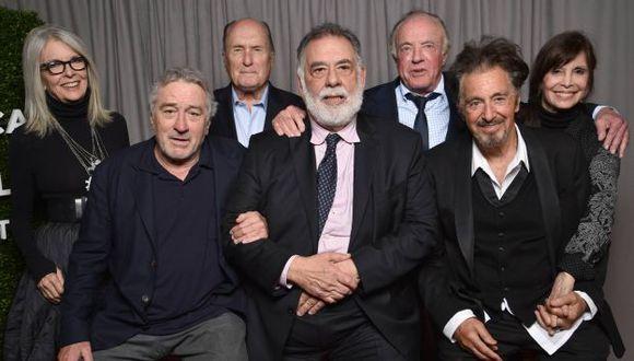 Actores de la película se reunieron para celebrar 45 años de 'El Padrino' (Getty)