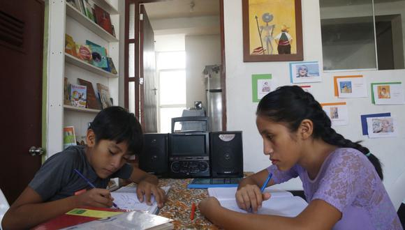 Minedu implementa Alerta escuela para identificar estudiantes con riesgo de abandonar el sistema educativo. (Foto: Minedu)