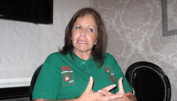 La lideresa del Partido Popular Cristiano (PPC) Lourdes Flores Nano señaló que Horacio Cánepa deberá responder por haber recibido dinero de Odebrecht. (Foto: GEC)