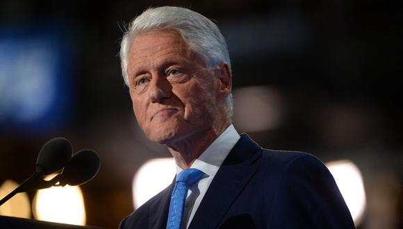 El centro médico no ofreció detalles adicionales a AFP sobre la hospitalización de Bill Clinton. (Foto: Robyn BECK / AFP)