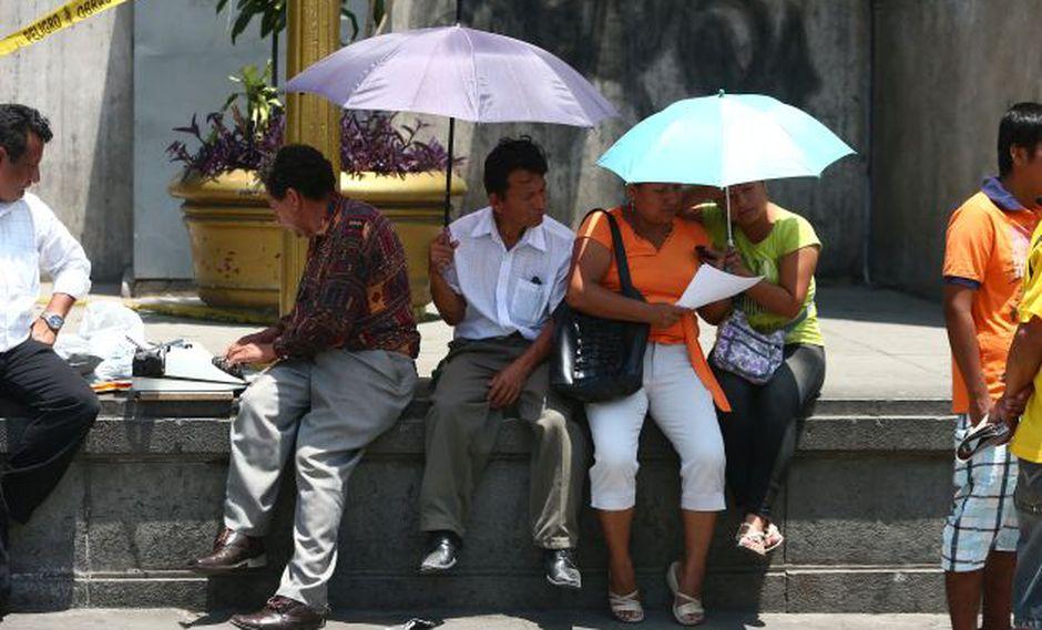 Se prevé que las temperaturas superen los 30°C. (USI)
