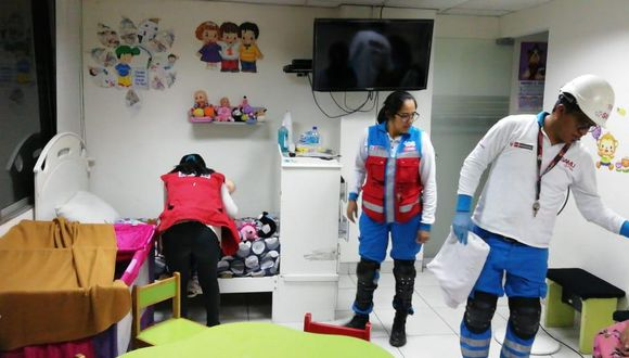 La menor fue recibida por especialistas de la Unidad de Protección Especial (UPE). (Foto: MIMP)