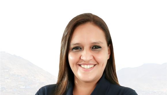 Shadia Valdez es candidata al Congreso con el Nº 10 de Podemos Perú. (Difusión)