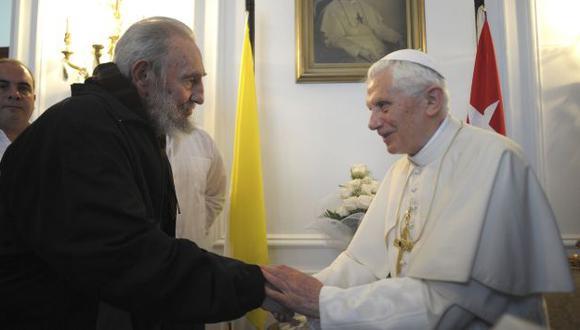 Castro no aparece en público desde marzo del 2012, cuando se reunió con el Papa Benedicto XVI. (Reuters)