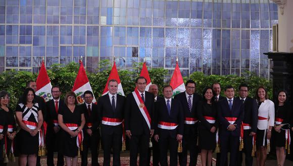 El nuevo Gabinete Ministerial de Salvador del Solar está conformado por nueve mujeres. (Foto: EFE)