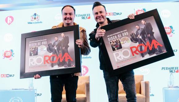 El dúo Río Roma se presentará en el Festival Viña del Mar 2017. (Créditos: Prensa Turner Viña 2017)