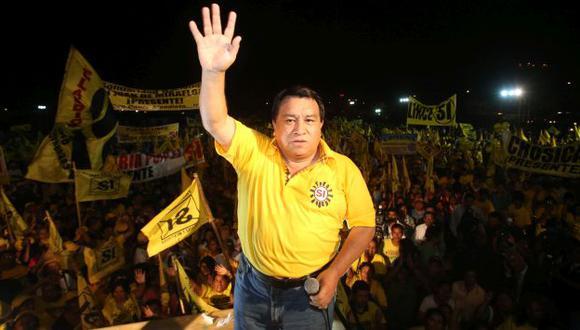 José Luna Gálvez renunció al partido Solidaridad Nacional. (USI)
